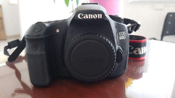 Câmera Canon 60d + Lente 18 55