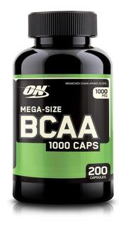Bcaa Optimum Nutrition 200 Cáps- Importado - Envio Imediado