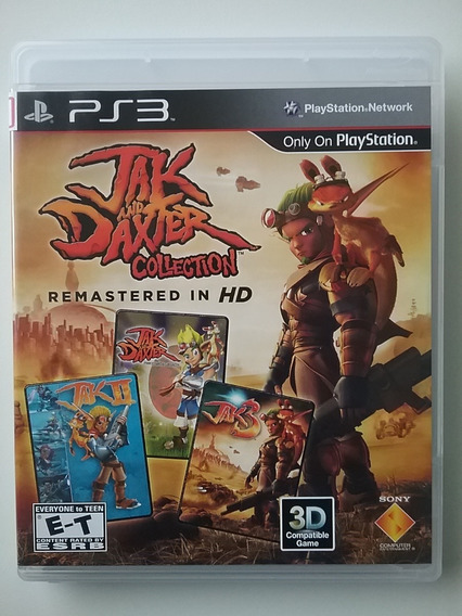 Jak And Daxter Collection Ps3 Mídia Física Original Perfeito