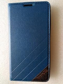 Funda Flip Cover Tipo Cuero Sintético Samsung Galaxy Note 4.