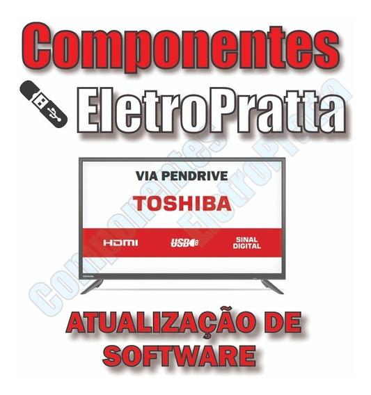 Atualização De Software Tv Toshiba Sti Le3256(a)w - Le3256a