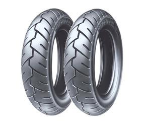 Par Pneu Michelin 350-10 + 350-10 S1 Suzuki Burgman 125