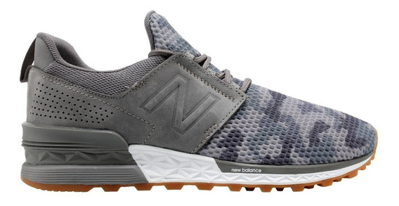 Zapatillas New Balance 574 Hombre Dcy Gris Lifesstyle