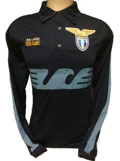 Camisa Da Lazio Italia Manga Longa
