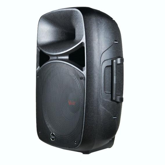 Caixa De Som Ativa Leacs Fit 15 Abs 500 Watts Musical C/nf