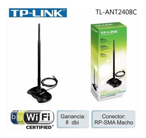 Imagen 1 de 3 de Antena Tp-link 8dbi Omnidireccional Tl-ant2408c Oferta Nueva