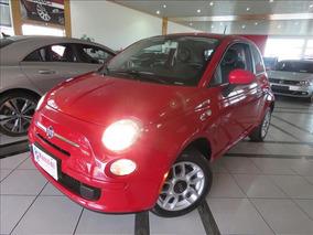 Fiat 500 Cult 1.4 Flex Vermelho
