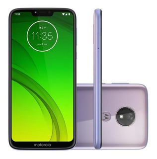 Smartphone Motorola Moto G7 Power Lilás 64gb Câmera 12mp Xt1955-1