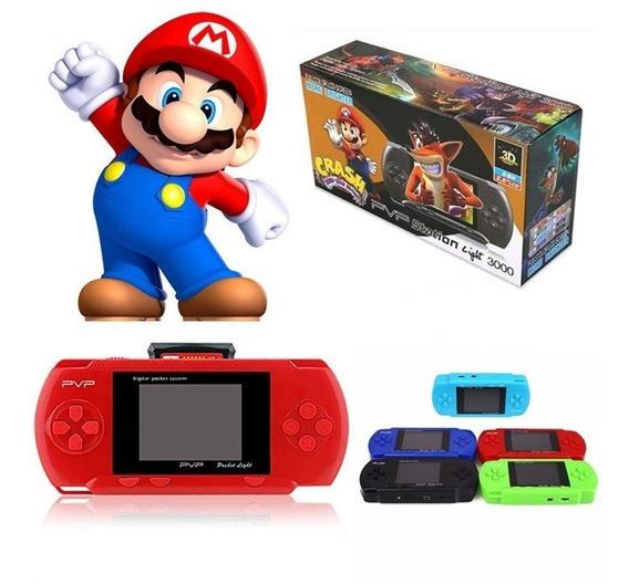 Mini Game Portátil Pvp Station Light 3000 8bits Super Mario