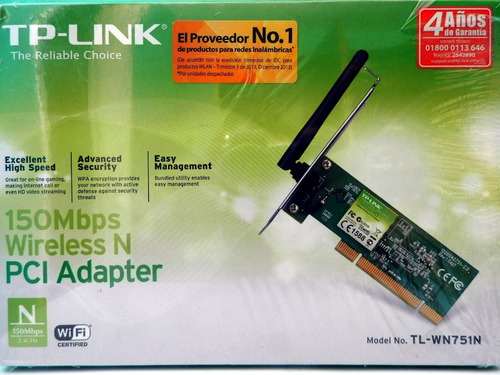 Pci Adapter Wireless N 150 Mbps