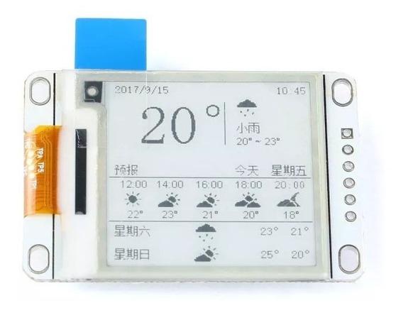 1.54 Polegadas E-paper E-ink Display Screen Modulo Arduino