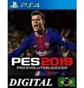 Pes 19 - Ps4 Midia Digital - Primaria- Original Promoçao
