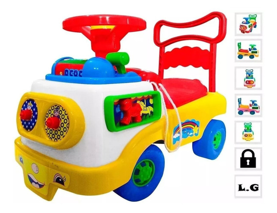 Carrito Jumbo Montable Didactico Unisex Infantil Juguete New