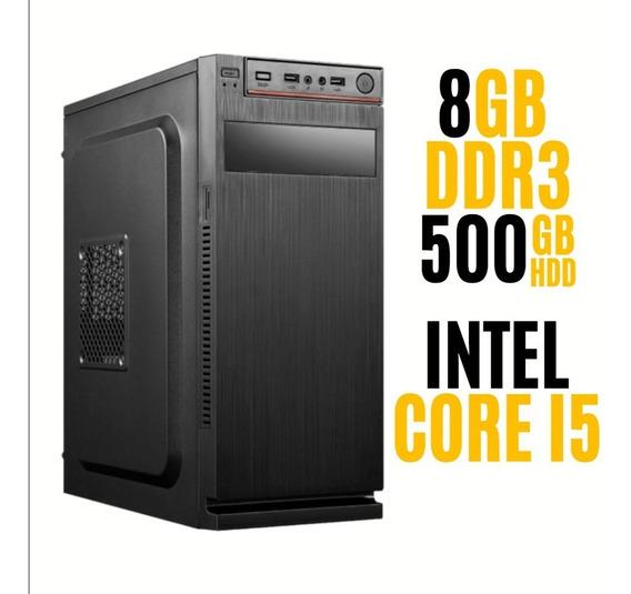 Pc Core I5 500gb 8gb Ram 12x Sem Juros!