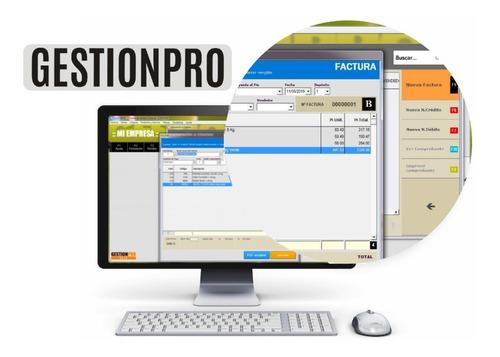 Programa De Facturación P/ Facturas Electrónicas Gestionpro