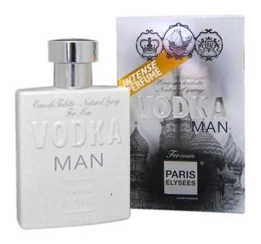Perfume Paris Elysees Vodka Man - Inspiração 212 Vip Man