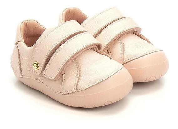 Tênis Gambo Baby New Steps Rosa Blush