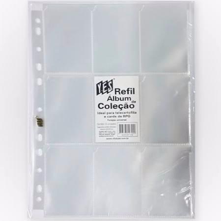 Porta Cartao - Album De Coleçao - 90 Unidades - Yes Pct10