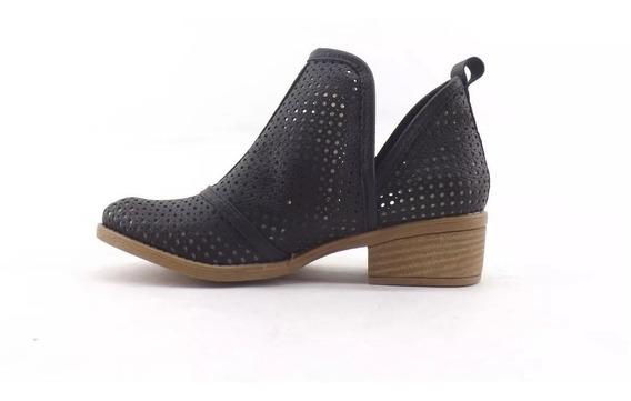 Zapatos Mujer Botineta Tipo Bota Texana Art 2100
