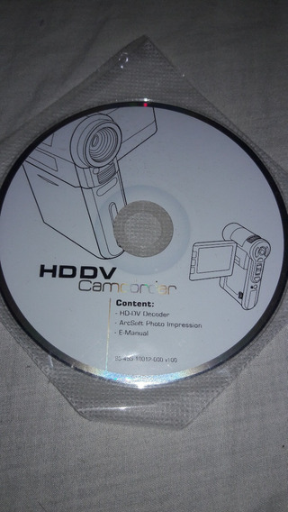 Cd Programa Hddv Camcorder..