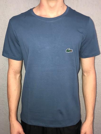 Camiseta Lacoste Original - Logo Emborrachado