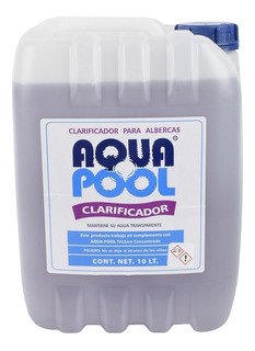 Clarificador Líquido Aqua Pool Para Albercas [1 Bidón 10 Lt]