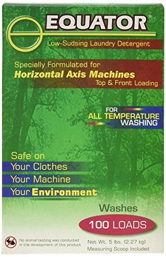 Imagen 1 de 5 de Equator Detergente Lavadero Biodegradable Bajo Y Espumante