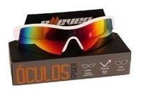 Oculos Ciclismo Esportivo Lentes Color Spider Branco Elleven
