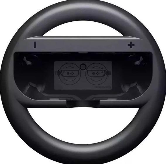 Par Volante Nintendo Switch Controle Joy-coin Grip Preto
