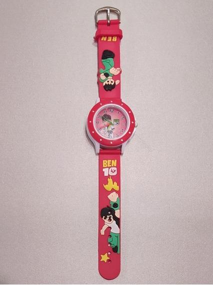 Relógio Infantil Ben 10 Funcionando - Nunca Usado Ver Fotos