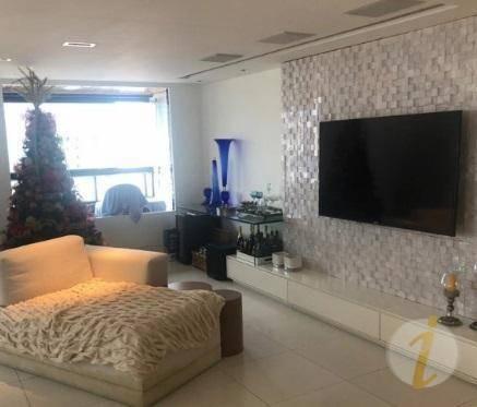 Apartamento Com 3 Dormitórios À Venda, 210 M² Por R$ 950.000 - Manaíra - João Pessoa/pb - Ap6694