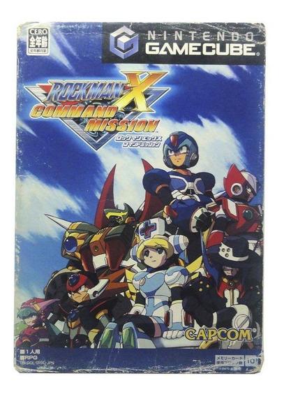 Rockman X Command Mission Gamecube Japonês Mídia Física