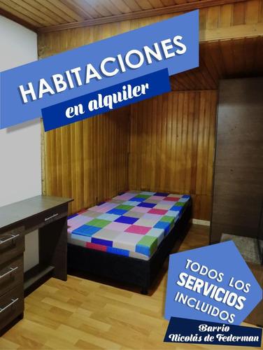 Habitaciones En Arriendo Bogota Todo Incluido Y Amoblado