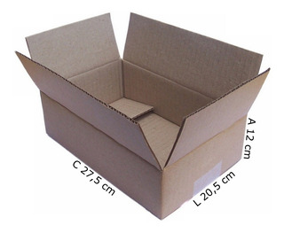 Caixa Papelão Correio Sedex Pac 27x20x12 Maleta Com 75 Unid