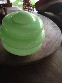Lustre Verde Década 50 Antigo
