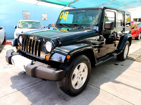 Jeep Wrangler Sahara Unlimited 4x4, Dos Dueños, Impecable