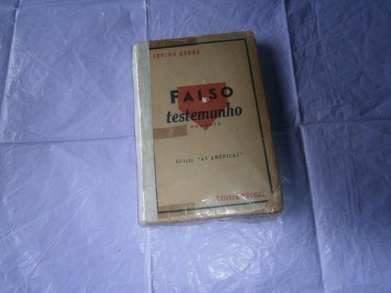 Livros Antigos.falso Testemunho.romance.