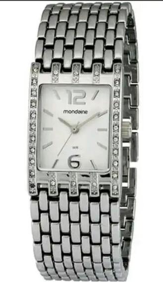 Relógio Tipo Pulseira Feminino Mondaine 83099l0mnnm1 Analóg