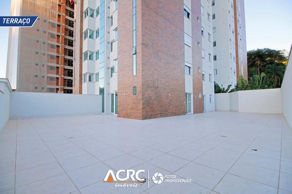 Acrc Imóveis - Apartamento Com Terraço E Churrasqueira À Gás Para Venda No Bairro Vila Nova - Ap03553 - 68017676