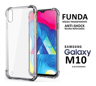 Funda Tpu Borde Reforzado Para Samsung M10