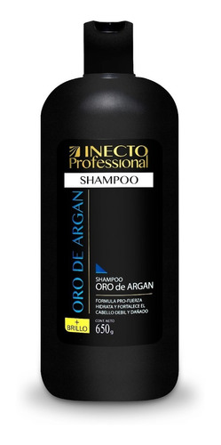 Shampoo Inecto Professional Oro De Argan X 650ml