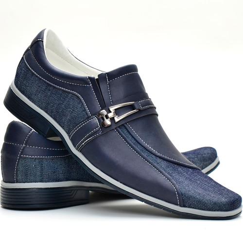 00982f157 Sapato Social Masculino Super Luxo Promoção De Lançamento!!! - R$ 69,49 em  Mercado Livre