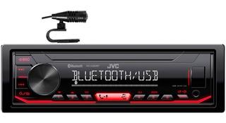 Autoestereo Jvc Kd-x260bt Bluetoot Aux Usb Pandora Microfono