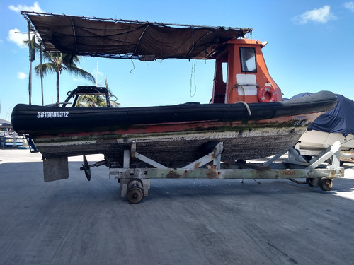Barco Inflavel Sr760 Diesel Pesca Passeio Trabalho
