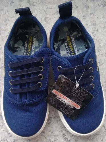 zapatos deportivos skechers para ni�as jeans