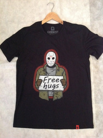 Camisa Free Hugs Jason Sexta Feira 13 (produto Oficial)