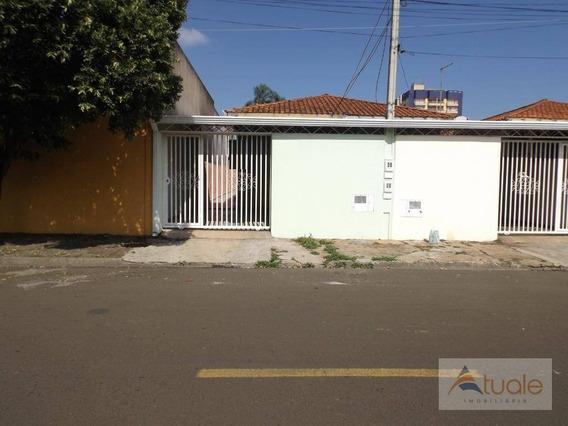 Casa Com 2 Dormitórios Para Alugar, 90 M² Por R$ 1.200,00/mês - Loteamento Remanso Campineiro - Hortolândia/sp - Ca6766