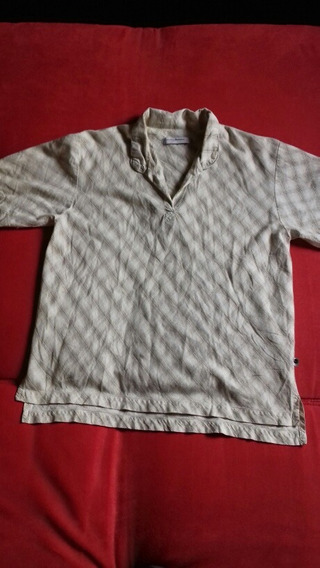 Perry Ellis Camisa Polo Hombre M Beige