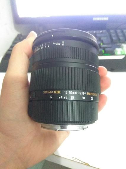 Lente Sigma 17-70 Macro P/ Canon (leia Anuncio)