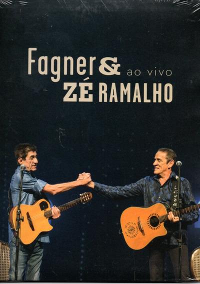 Dvd Fagner E Zé Ramalho - Ao Vivo